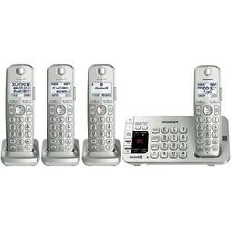 Panasonic Link2Cell KX-TGE474S DECT 6.0 1.90 GHz Cordless Ph