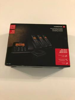 Motorala Digital Cordless/Corded Combo Phones WIth Answering