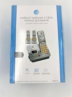 New AT&T 3 Handset Cordless Answering System EL52303 C274
