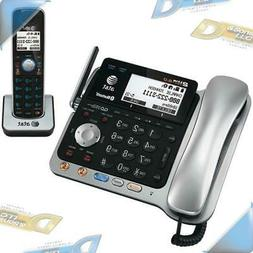 NEW AT&T DECT 6.0 2-Line BT+Wireless Corded/Cordless Home Ph