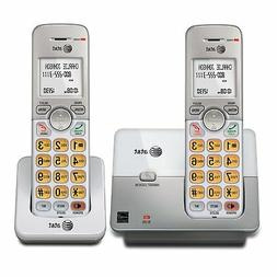 New Cordless Phone with Caller ID Call Speaker Digital 2 Hom
