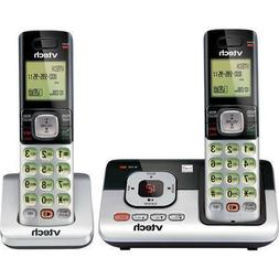 NEW VTech Wireless Phones 2 Cordless DECT 6.0 Handsets w/ Ca