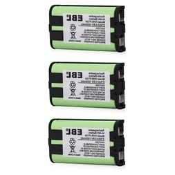 3x 1000mAh Cordless Phone Battery For Panasonic HHR-P104 HHR