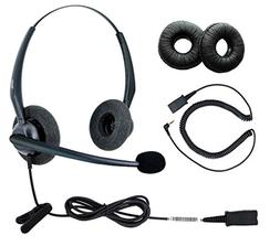 DailyHeadset 2.5 mm Duo Noise Cancelling Headset Over Ear He