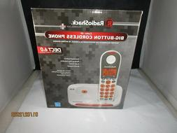 Radio Shack Big Button Digital Cordless Phone DECT 6.0 43004
