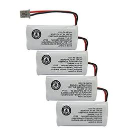 GEILIENERGY  2.4V Rechargeable Batteries Compatible with Uni