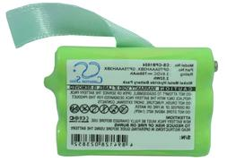 Replacement Battery for Motorola 3.6v 600mAh / 2.16Wh Cordle