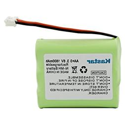 Kastar Cordless Phone Battery for AT&T 3300 3301 6100 6200 E
