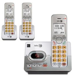 AT&T DECT 6.0 Digital 3 Handset Cordless Phone w/ Digital An
