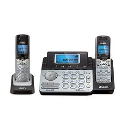Vtech DS6151 DECT6.0 2-Line Cordless Phone System with 1 DS6