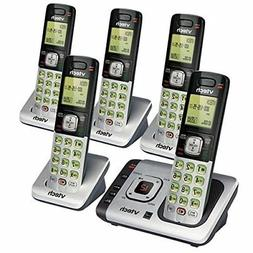 VTech CS6729-5 DECT 6.0 Cordless Phone System With Digital A