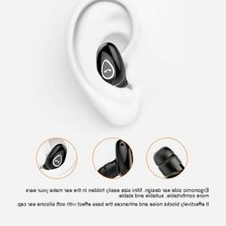 Wireless Bluetooth Earphones Cordless Mini Earbuds with Mic